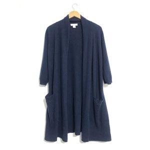 KENAR 100% Cashmere Long Cardigan size M